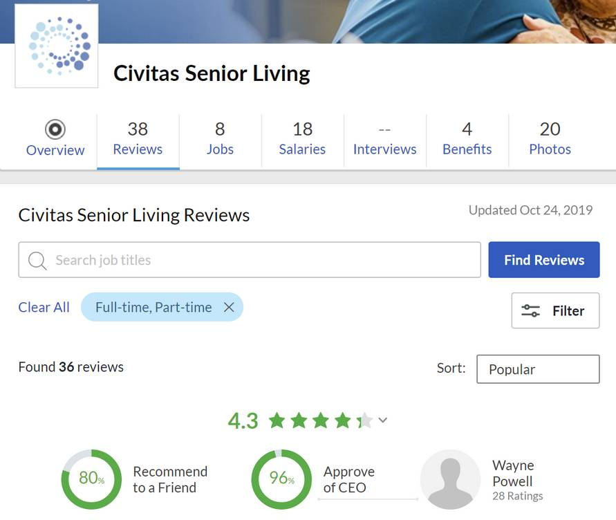 Civitas Senior Living company